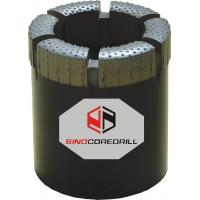 Quality Surface Set Diamond Core Bits , Diamond Cutting Drill Bits With Hard Matrix for sale