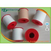 China 100% cotton Zinc Oxide Plaster  with Hypoallergenic Glue Medical Adhesive Plaster Tape with plastic shell package on sale