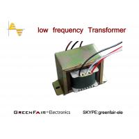 Single Phase Center Tapped Transformer , UL Lead Wire Linear Transformer