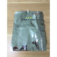 China Dustproof Foil Ziplock Bags Resealable Ziplock Pouches For USB Cable on sale
