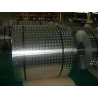 Quality 4 mm Roll Aluminum Checkered Plate , Steel Diamond Plate Sheets For Bus for sale