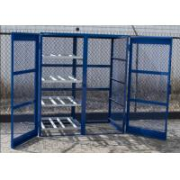 Quality Different Sizes Fuel Storage Cage , Durable Gas Canister Cage Anti Theft for sale