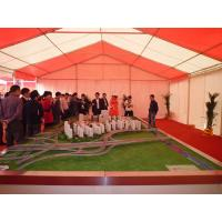 Large Outdoor Exhibition Tent Aluminum Alloy Material For Car Exhibition