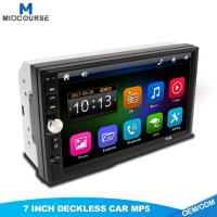 Quality Wholesale Mirror Link 2 Din 7Touch Screen Car Stereo with Bluetooth for sale