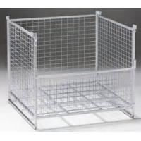 Buy cheap Warehouse IBC Metal Cage Wire Storage Cage 800kg Load Weight Stackable Boxes from wholesalers