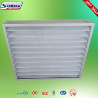 Buy Ventilation Washable Pleated Panel Air Filters Industrial With High Efficiency at wholesale prices