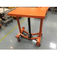Quality Foot Operated Hydraulic Post Lift Table 635 Mm Lowest Height For Heavy Duty Shop for sale