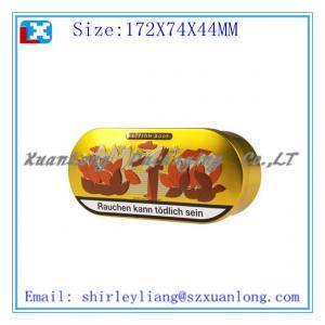 China Egg shape packaging chocolate tin box on sale