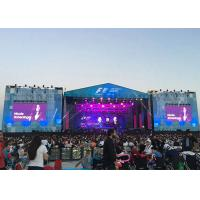 China P4.81 Full Color Outdoor Rental Led Screen Video Advertising Board High Brightness on sale
