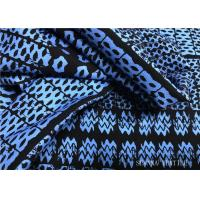 Quality Lycra Material Performance Knit Fabric , Digital Printing Sport Knit Fabric for sale