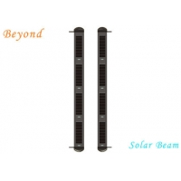 Quality Solar-Powered 8-beam Active Wireless Infrared Solar Beam Light Wall for Courtyard &Fence for sale