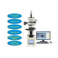 Buy cheap Touch Screen Digital Hardness Tester Vickers with Motorized XY Table and Software Measurement product