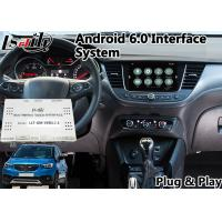Quality Android GPS Navigation Box for 2014-2018 Opel Crossland X Intellilink System ,  Bluetooth OBD for sale