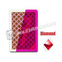 China Aribic JDL Standard  Size Plastic Invisible Marked Playing Cards For Contact Lens on sale