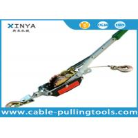Buy cheap ISO , CE Transmission Line Stringing Tools ,  2T Wire Rope Puller with Single Ratchet product