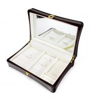 Quality Luxury Wood Gift Box Packaging / Wooden Jewelry Case In Glossy Finish for sale