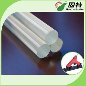 China EVA Transparent Hot Melt Gun Stick For Sealing , Packing , Woodworking on sale