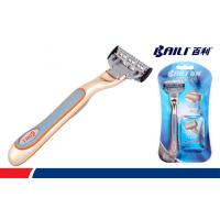 Quality Men Disposable Blade Razors Disposable Shaving Razor Plastic Handle for sale