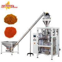 Buy Full Automatic Pepper Powder Pouch Packaging Machine With Auger Filler at wholesale prices