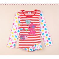 Quality O-neck Fashion Embroidery Girls Dress with Long sleeve for sale