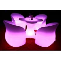 Quality 2014 led glowing chair rechargeable led light bar chair for sale