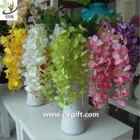 China UVG High quality orchid artificial flowers imported from china use for wedding ornaments on sale