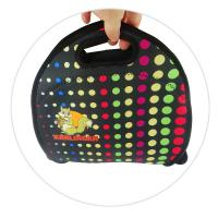 Quality Reusable 4mm Neoprene Lunch Tote , Sandwich Bag With A Long Zipper for sale