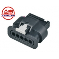 China 5 Pin Female 1-1718806-1 Automotive Housing Connector on sale