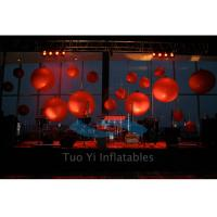 Quality Trade Show LED Commercial Lighted Helium Balloon Show Advertising for sale
