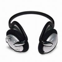Quality Headset MP3 Player with FM Radio, Lithium Battery, Headphones/Headset/Earphones for sale