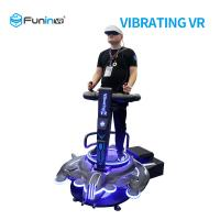 Quality 220V VR Vibration Platform 9D Virtual Reality Game Flight Simulator For Scenic for sale