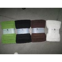 Quality Cube Plain Dyed Towel for sale