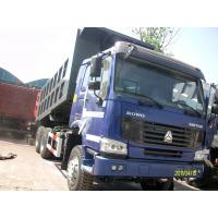 China HOWO 371hp tipper 25 tons mining dump truck in lower fuel consumption