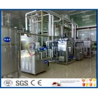 Buy cheap Full Automatic Milk Production Plant , Milk Processing Industry Dairy Plant Equipment product