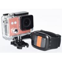 Buy cheap New Ef81br Weatherproof Sports Action Camera For Diving , OEM Helmet Action Camera product