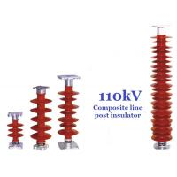 Quality 110 kV Polymer Line Post Type Insulator Safety For Power Substations for sale