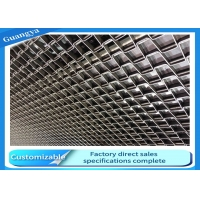 China SS316 27.3mm Rod Honeycomb Conveyor Belt ANSI For Food Processing on sale