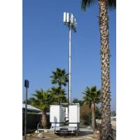 Buy Vehicle Mounted Pneumatic Telescopic Mast Mobile Light Tower With tripod at wholesale prices