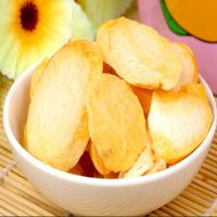 Quality Great quality healthy snack dried peach chips for sale