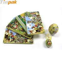 Buy Customized metal chocolate box easter gift at wholesale prices