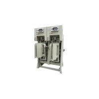 Quality 300B/H 50kg Valve Bag Packing Machine With Vertical Impeller Feeder for sale