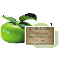 China Acidity Regulators , Malic Acid CAS 6915-15-7 With DL & L For Cool Drinks on sale