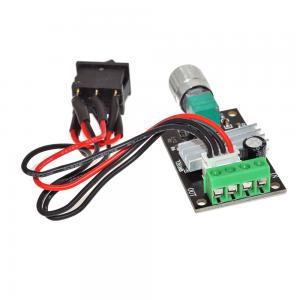 China PWM DC Motor Speed Controller Voltage Regulator Module 6V 12V 24V 28V 3A 80W Reversible Pulse Width on sale