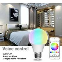 Quality IFTTT Wifi LED Bulb 2700-6500k Voice Control Google Home Assistant for sale