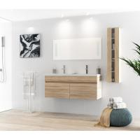 Quality White Table Modern Style 120 Inch Bathroom Vanity For Small Bathrooms for sale