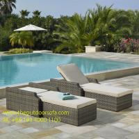 China PE Wicker Rattan Dining Sofa / Chair, Outdoor Chaise Lounge, Rattan Garden Furniture, on sale