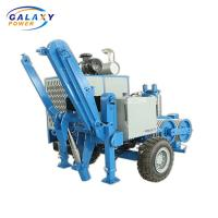 China Gs120 Stringing Equipment Max Intermittent Pull 120kn Hydraulic Power Puller on sale