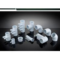 China PVC Plumbing Parts Plastic Water Distribution Manifold , Tee , Elbow For Connecting on sale