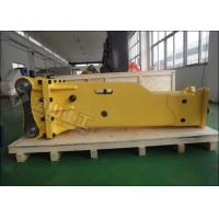 Quality Box Type PC120 Excavator Rock Breaker 80-120 L/Min For Construction Demolition for sale