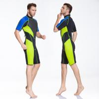 Quality shorty wetsuits diving suits,short sleeve suits 3mm 4mm china manufacture for sale